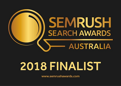 SEMrush Search Awards, Australia, 2018.